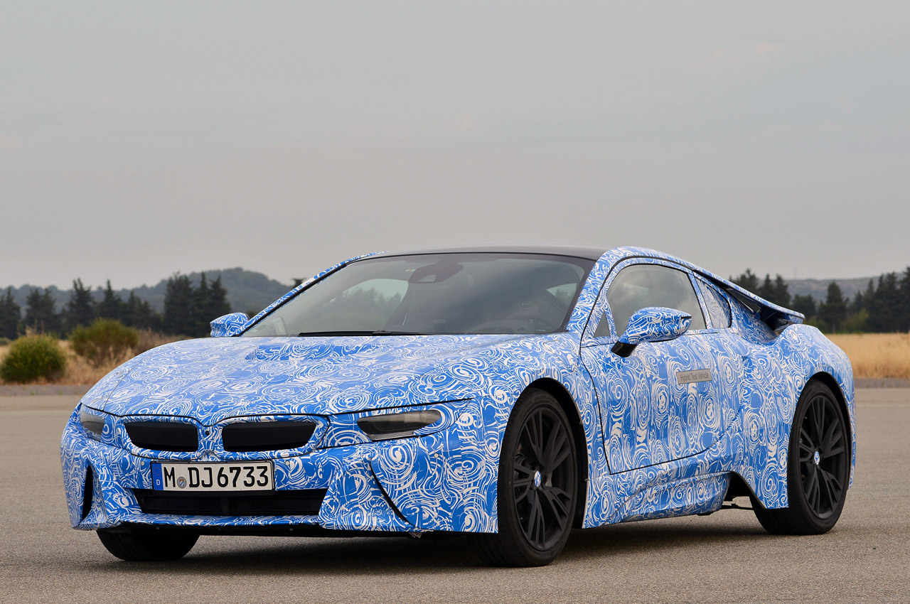 Bmw Repair Shops >> BMW i8 will be first production car to use Gorilla Glass ...