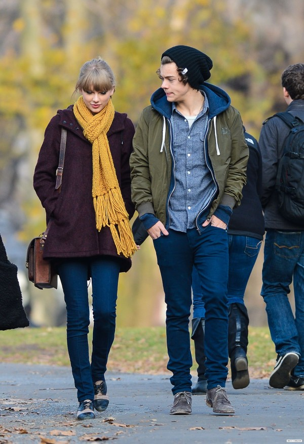 Harry styles and taylor swift officially dating