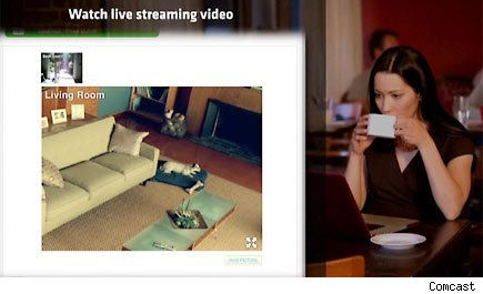 Watch Yourself, Comcast: Creepy Home Security Cameras ...  Watch Yourself,...