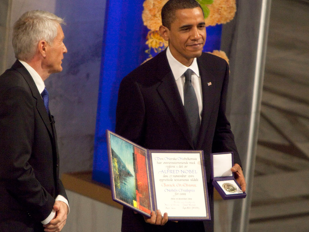Nobel Committee Asks Obama 'Nicely' To Return Peace Prize