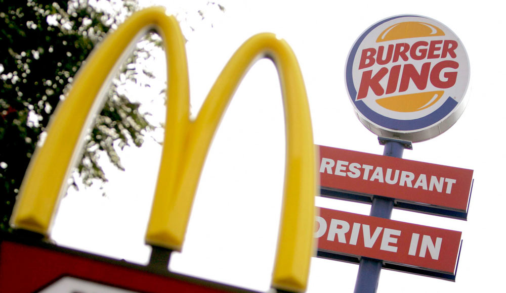 Burger king market structure and market trends