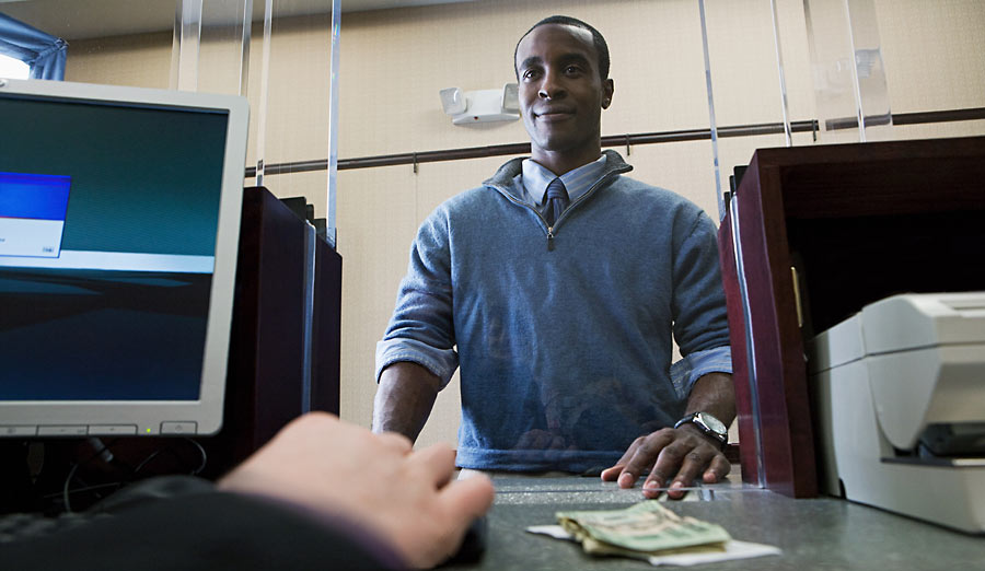 bank teller pictures - photo #19