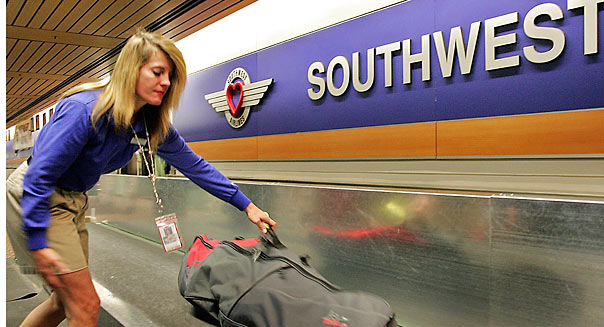 southwest airlines baggage fees domestic