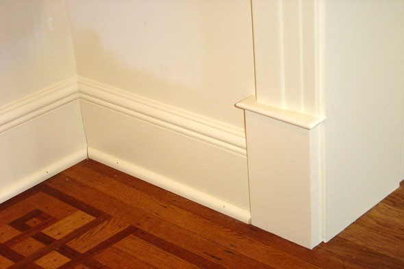 Exceptional Baseboard Cleaning