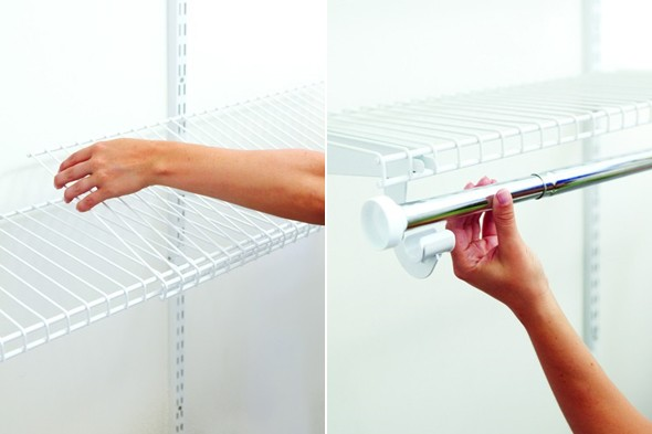 How To Install Rubbermaid Wire Shelves The Best Free