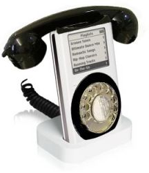 iPhone prototype - ipod meets telephone