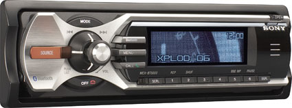 Sony's MEX-BT5000 car stereo with Bluetooth