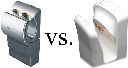 The Dyson Airblade Not All That Original - Mitsubishi hand dryer
