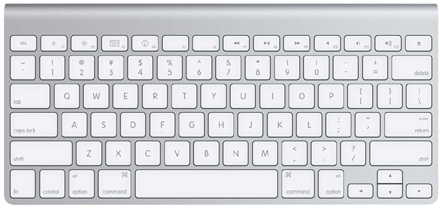 Apple's new metallic keyboards: in wired and Bluetooth flavors