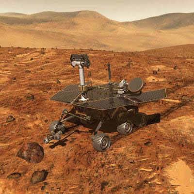 NASA's Mars Opportunity rover falls on hard times