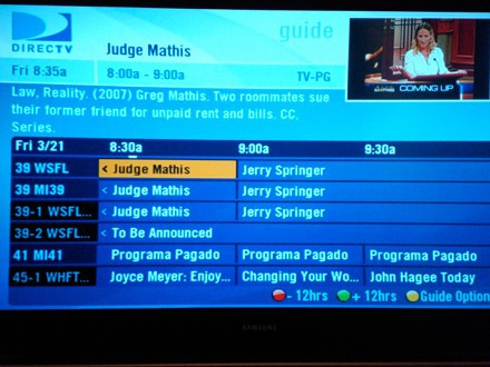 Directv Channel Lineup