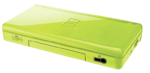 nintendo ds to come in lime green red and cool ice this summer