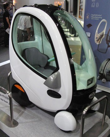 Topia Shows Off 330 Pound Huvo Electric Car