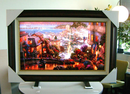 digital masterworks art tv could switch between tv and art display