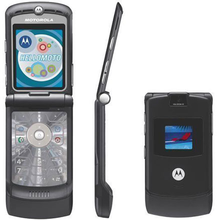 Motorola Krave ZN4, the clear flip touch phone, outed by Verizon ...