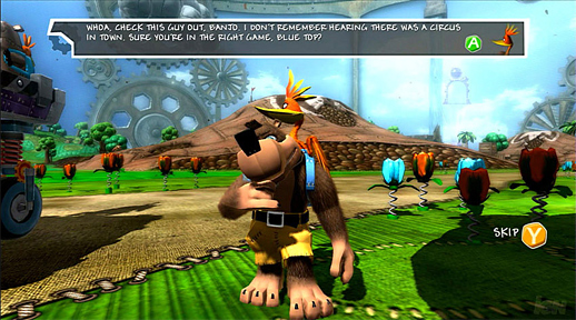 banjo kazooie nuts bolts getting fixed for sdtv owners