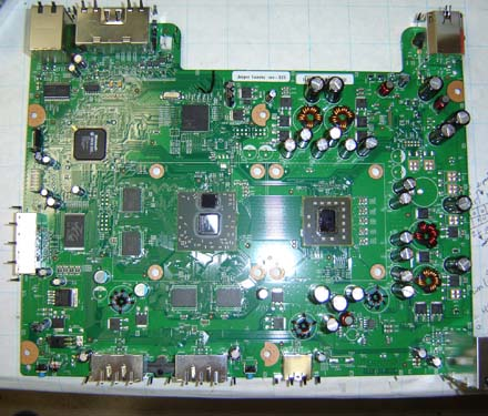 Xbox Schematic Diagram on