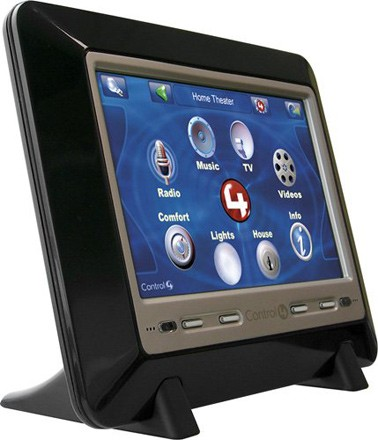 control4 unveils 1 299 7 inch table top touch screen. Black Bedroom Furniture Sets. Home Design Ideas