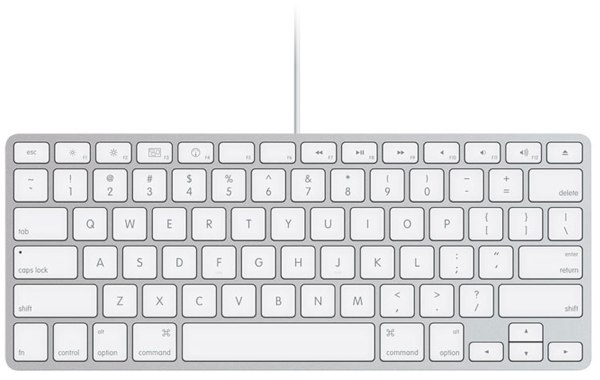 apple axes the numeric keypad on imac 39 s standard wired keyboard. Black Bedroom Furniture Sets. Home Design Ideas