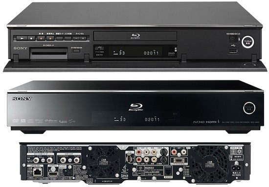 Sonys BDZ A950 A750 Blu Ray Recorders Do The Network Thing