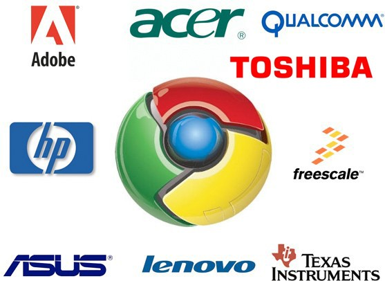 google names chrome os compatriots dell noticeably absent