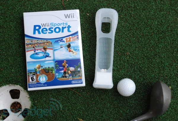 Wii Sports Resort Basketball 3 Point Contest Perfect