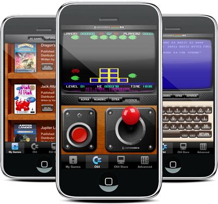 Emulatore di Commodore 64 per iPhone: due icone dell'hi-tech si incontrano