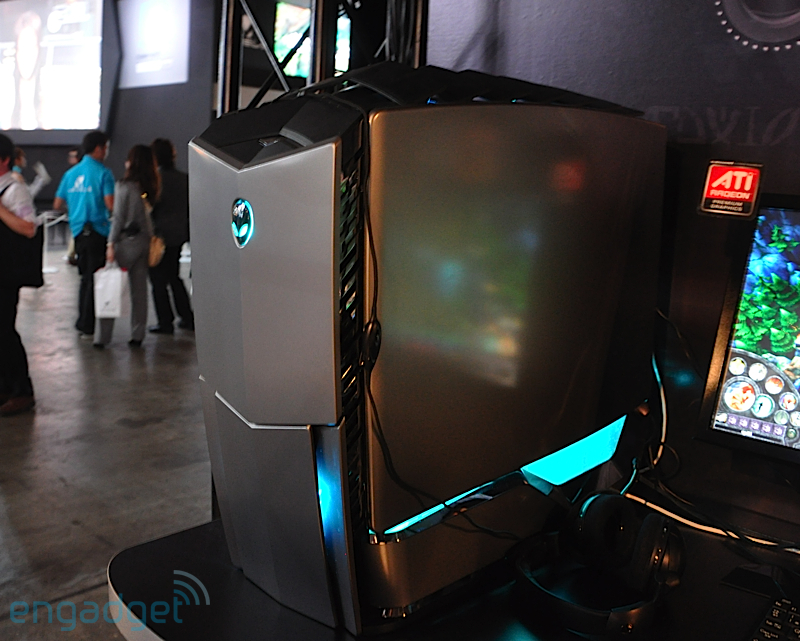 Alienware's redesigned Area-51, Aurora, and updated M15x