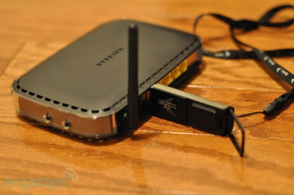 Netgear 3G Mobile Broadband Wireless Router unboxing and