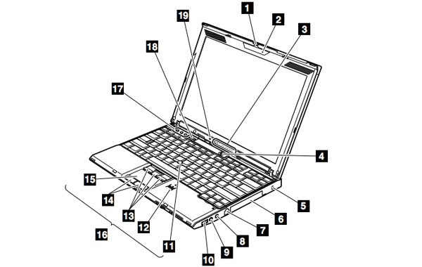 Laptop Battery Diagram