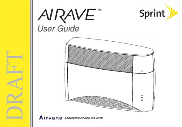 sprint airave gets remixed by airvana has voip landline and ev do rh engadget com sprint airave setup with router Sprint Cell Phone Booster