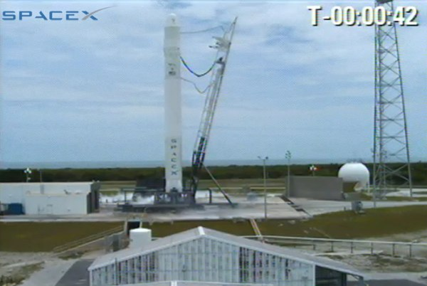 SpaceX Falcon 9 about to launch, check out the live stream ...