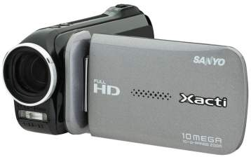 sanyo launches xacti vpc gh4 full hd camcorder with youtube rh engadget com