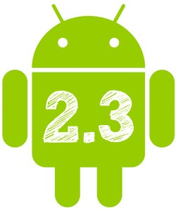 Android Gingerbread: 2.3, 2.5 ou 3.0? Pelo visto, 2.3...