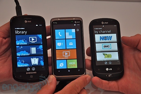 Meet The New At T Windows Phone Family
