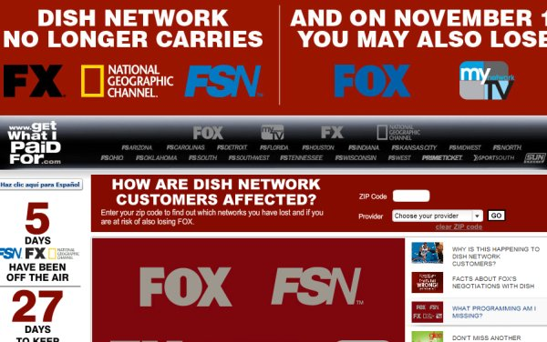 Fox, Dish Network deal means no network TV blackout, FX