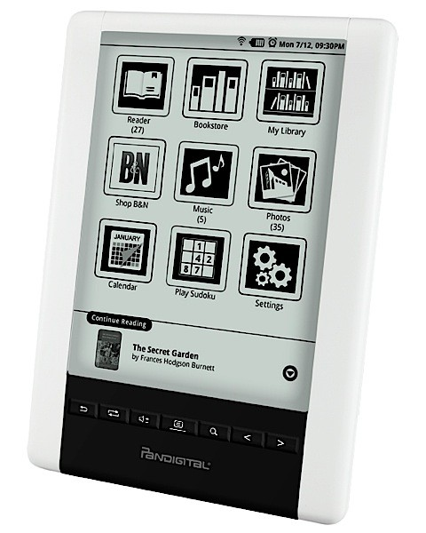 Pandigital takes a second shot at digital reading with the Novel ...
