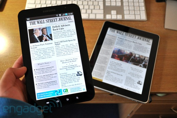 App review: wall street journal tablet edition for android.