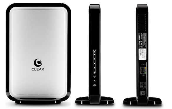 Clear launches new at-home WiMAX router with integrated WiFi
