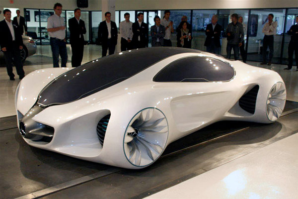 Mercedes-Benz BIOME Concept Car Grows In A Nursery, On