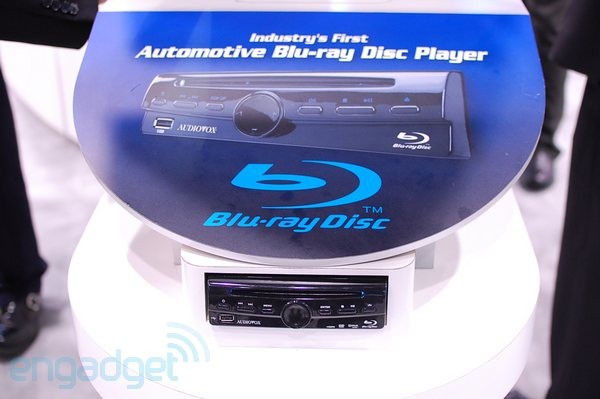 Audiovox Shows Off The Industry S First In Car Blu Ray
