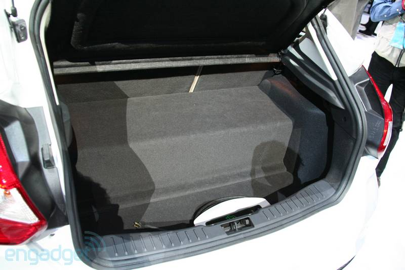 And To Make My Position Further Here Is The Trunk Of Focus Electric