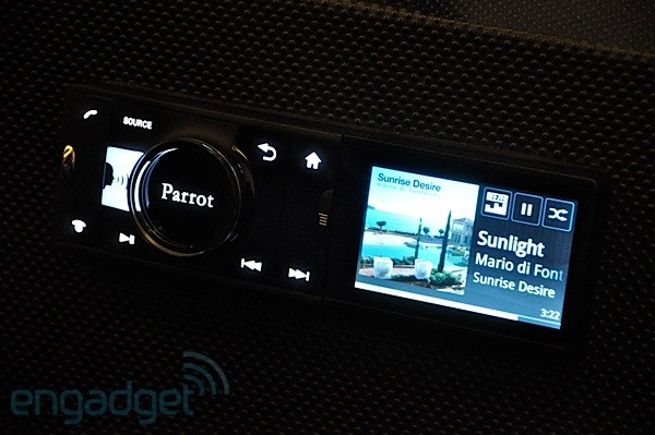 Parrot Asteroid car receiver packs Android and apps into ...