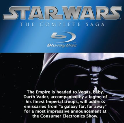 f65e0fcc9b Seeing that Lucas   Co. already announced that the Star Wars series would  be coming to Blu-ray we re not exactly sure what will be announced on  Thursday at ...
