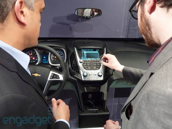 Chevrolet launches MyLink smartphone integration for 2012