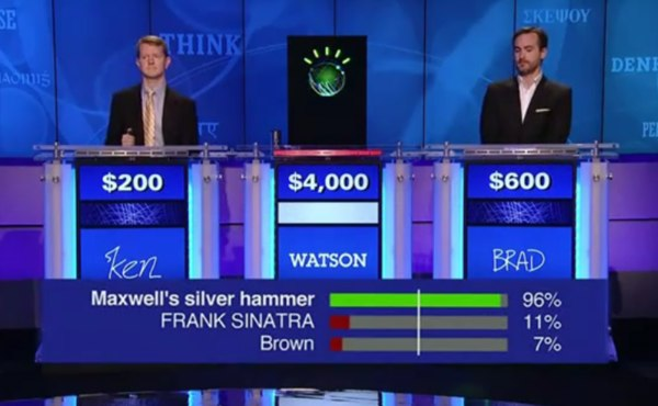Watson soundly beats the humans in first round of Jeopardy