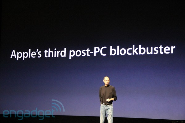Apple's third post-PC blockbuster