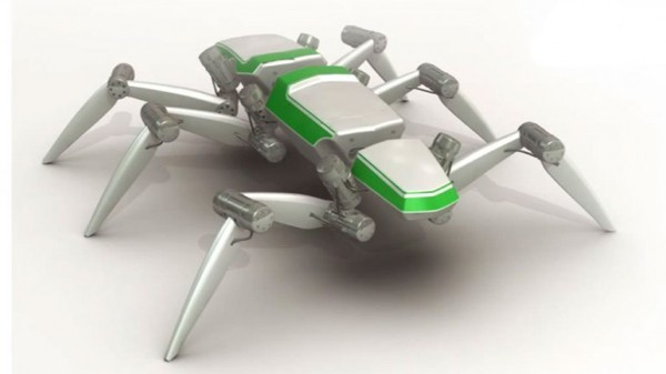 HECTOR insect-inspired hexapod walking robot is a smooth