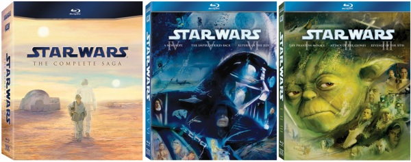 Star Wars Blu Ray Set Ships Sept 12th 16th World Na Has 40 Hours Of Special Features Engadget