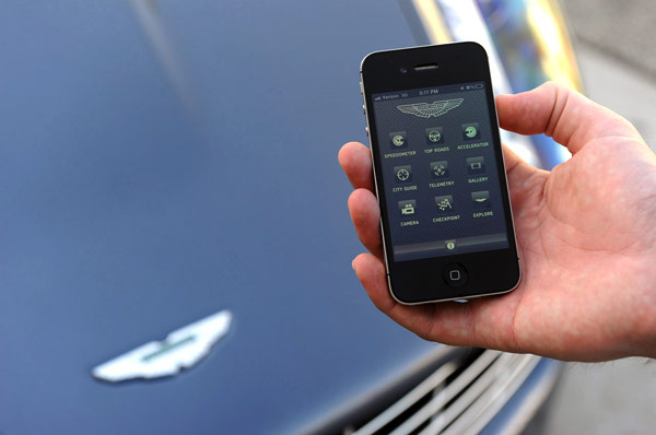 Aston Martin Experience Could Be The Ultimate IPhone Accessory But - Aston martin accessories